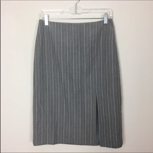 🎉4/$35🎉Banana Republic gray pinstripe skirt